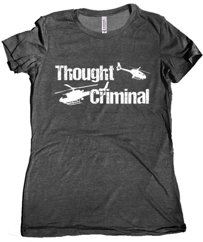 Thought Criminal Women's Shirt by Epicdelusion