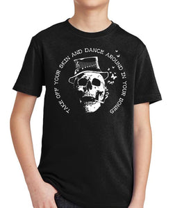 Dance Around in Your Bones Kid's Shirt by Epicdelusion
