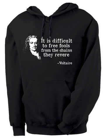 Voltaire Hoodie by Epicdelusion