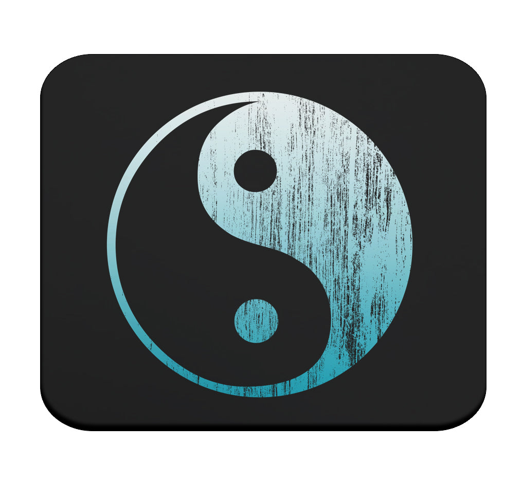 Yin Yang Symbol Premium Mouse Pad by Epicdelusion
