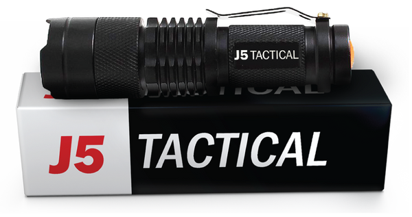 J5 Tactical V1 250 Lumens Flashlight