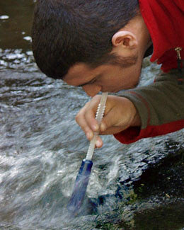 Survival Water Filtration Straw