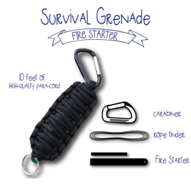 Survival Grenade Fire Starter