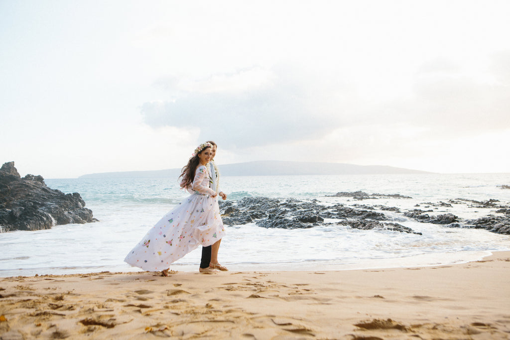 Soak in the moment of the ceremony and the wedding day without dress anxiety