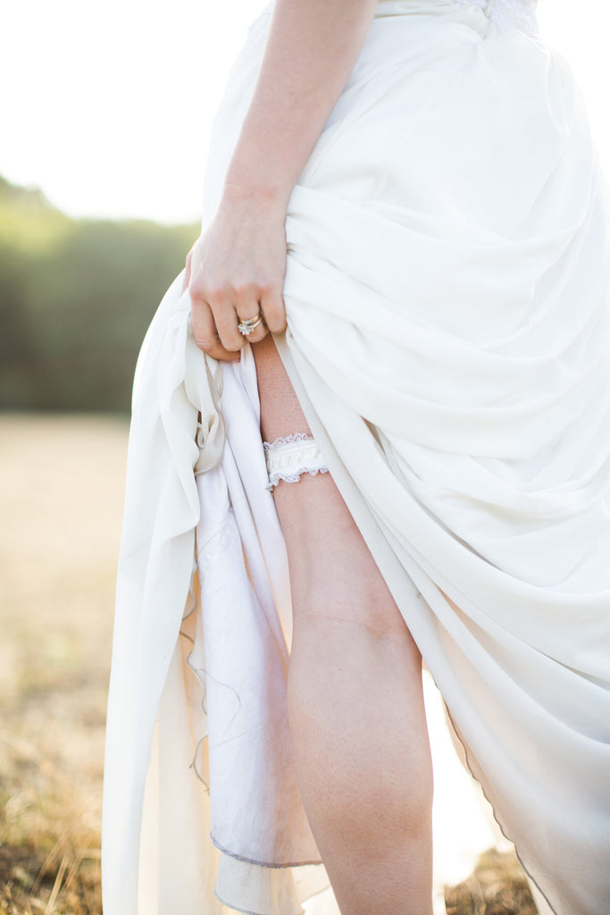 The multitudinous shades of white captured by Evie's wedding photographer, Lynn Bagley.