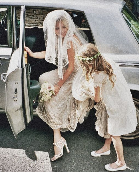 Kate Moss's wedding shoes