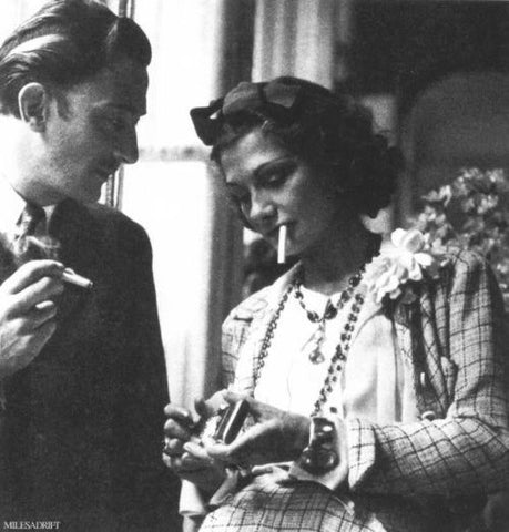 Is perfume the new secondhand smoke? Coco Chanel smoking with Salvadore Dali