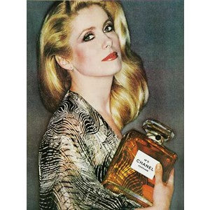 Catherine Deneuve for Chanel No. 5