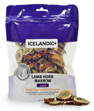 Icelandic+ Lamb Horn Marrow Chips Dog Treat 4-oz Bag - Icelandic+