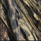Icelandic+ Wolffish Skin Strips Fish Dog Treat 1-lb Bag (Bulk) - Icelandic+