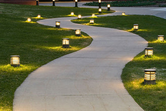 Pros and Cons of Solar-Powered Lights for a Walkway