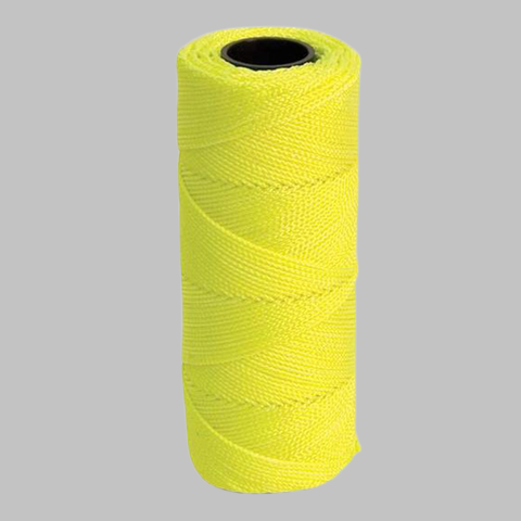 Yellow Nylon Braided Mason Line