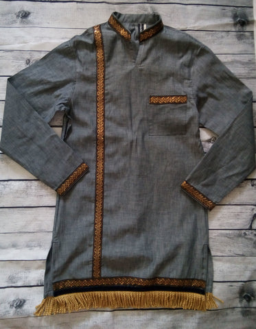DARK GREY MENS GARMENT