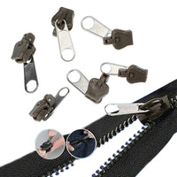 Zipper Fijador Reutilizable Kit de Costura 6 unids/set
