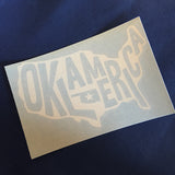 Oklamerica decal