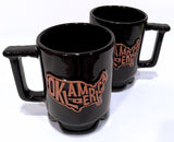 """Oklamerica"" authentic Frankoma mug"