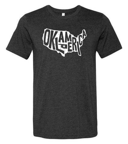 """Oklamerica"" Short Sleeve T-Shirt"