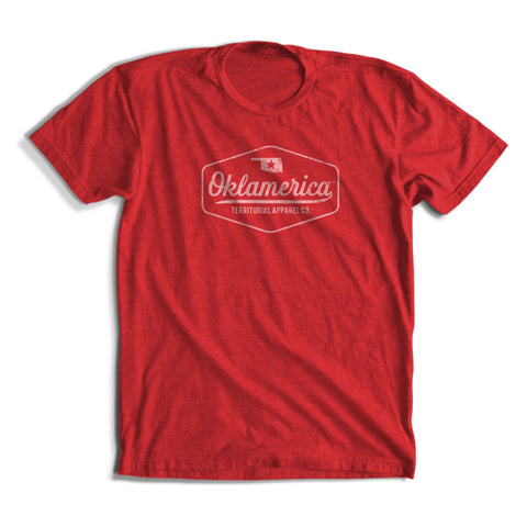 "Oklamerica ""Time Off"" Short Sleeve Triblend Tee"