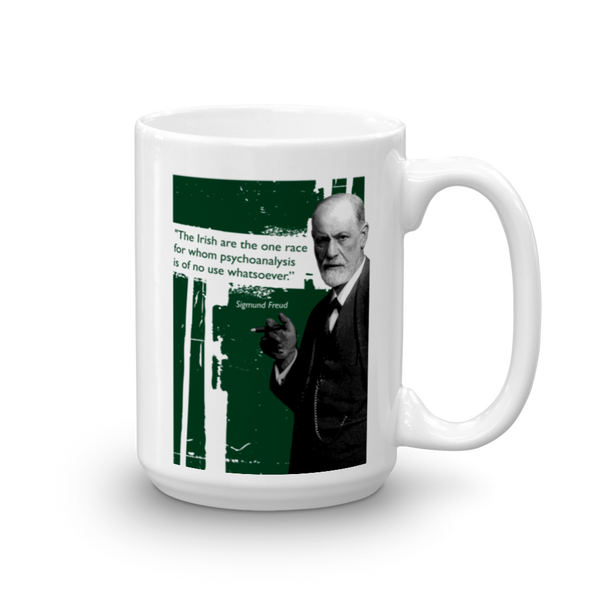 Sigmund Freud - The Irish are.... Mug - SíosBóx T-Shirts