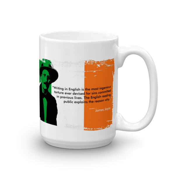 James Joyce - Writing in English... Mug - SíosBóx T-Shirts