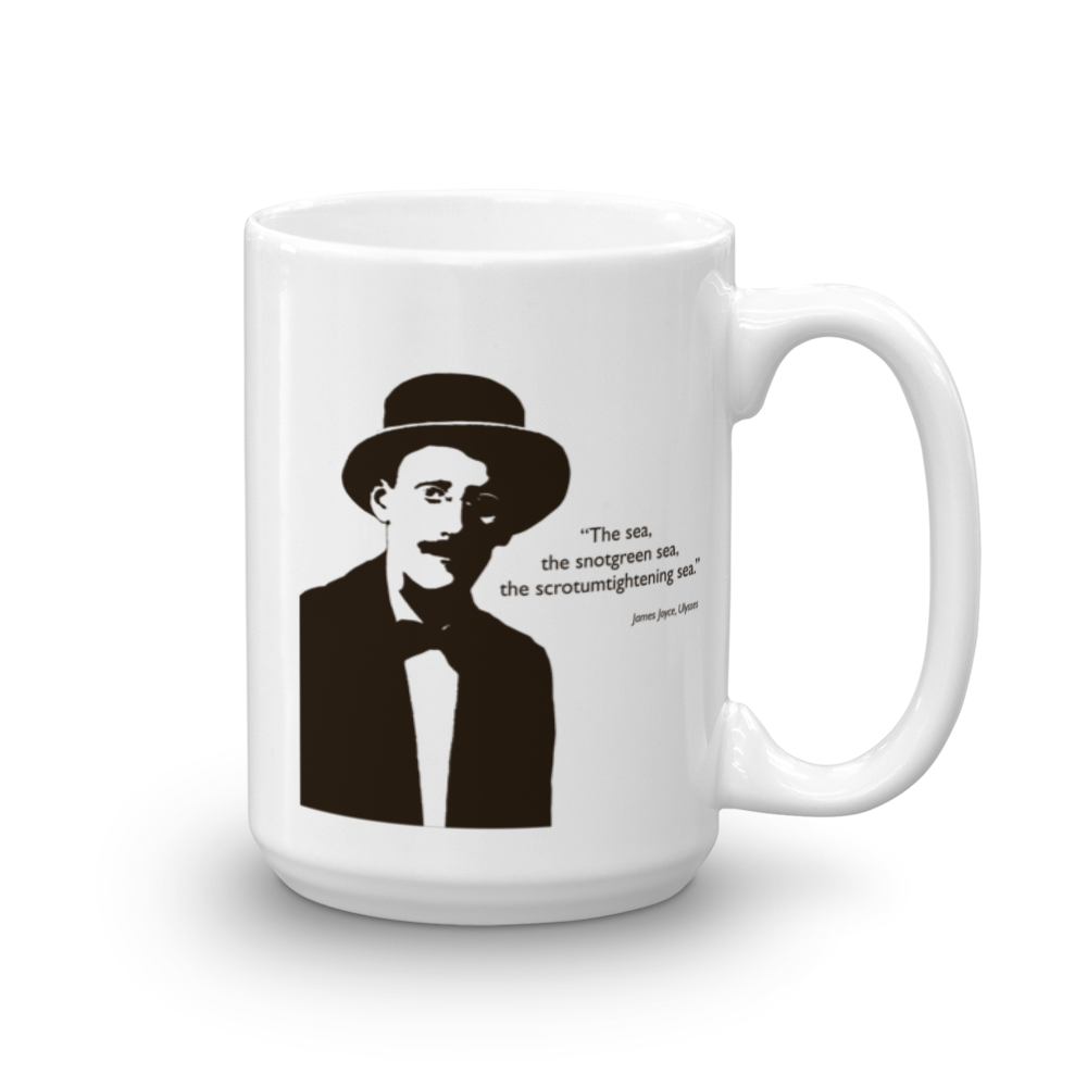 James Joyce - The Sea... Mug - SíosBóx T-Shirts