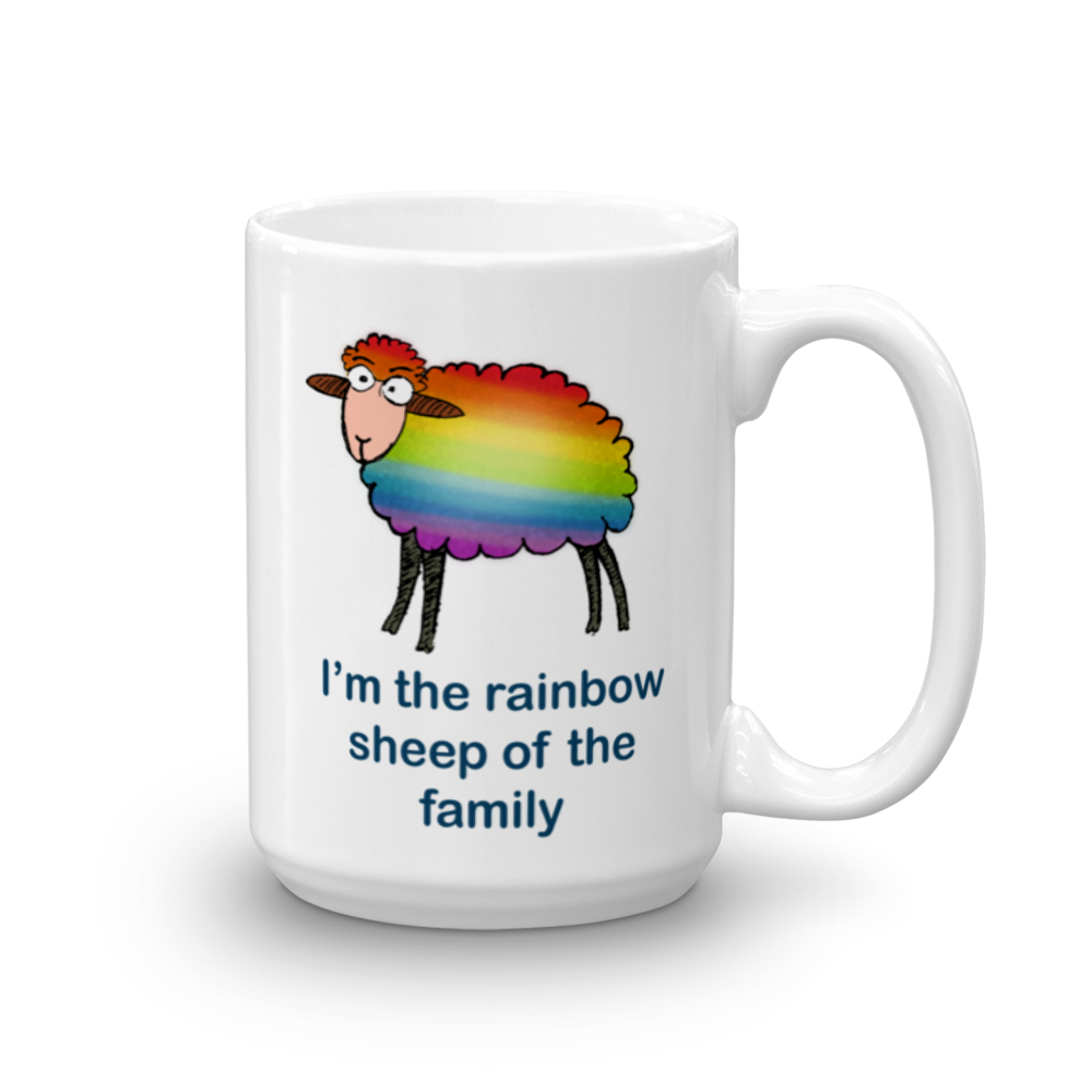 Rainbow Sheep of the Family Mug