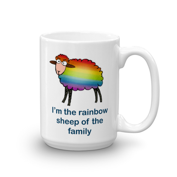 Rainbow Sheep of the Family Mug - SíosBóx T-Shirts