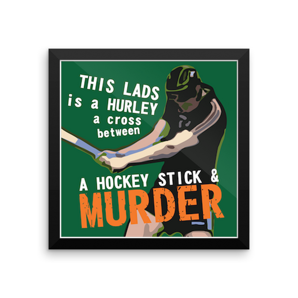 Hurling like Murder Poster