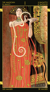 Load image into Gallery viewer, Golden Tarot of Klimt