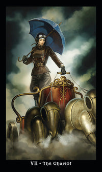 Load image into Gallery viewer, The Steampunk Tarot - Mini Edition