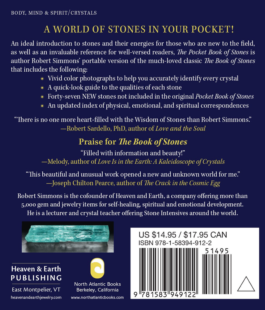 Load image into Gallery viewer, The Pocket Book of Stones - Revised Edition, By Robert Simmons and Naisha Ahsian