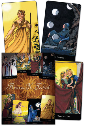 Load image into Gallery viewer, Anna.K Tarot - Tarot Kit