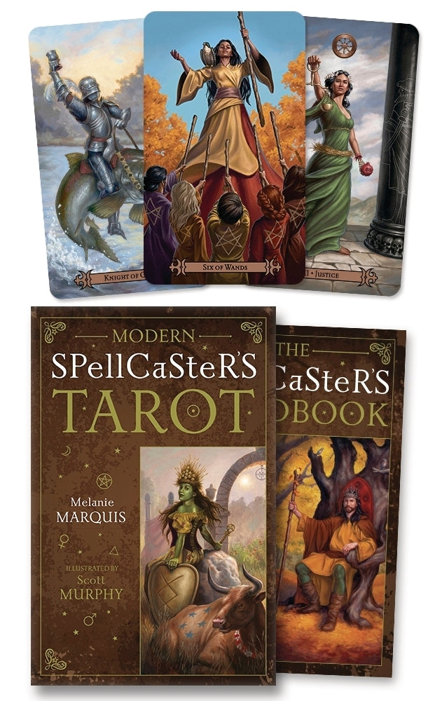 Load image into Gallery viewer, Modern Spellcaster's Tarot - Tarot Kit