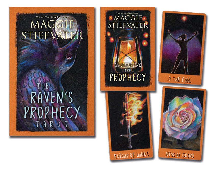 Load image into Gallery viewer, The Raven's Prophecy Tarot - Tarot Kit