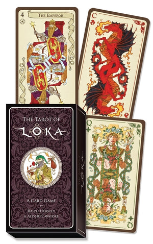 The Tarot of Loka - Card Game