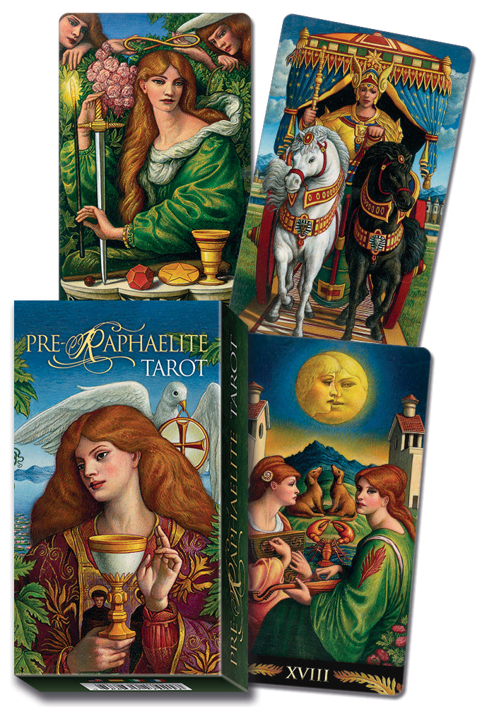 Load image into Gallery viewer, Pre-Raphaelite Tarot