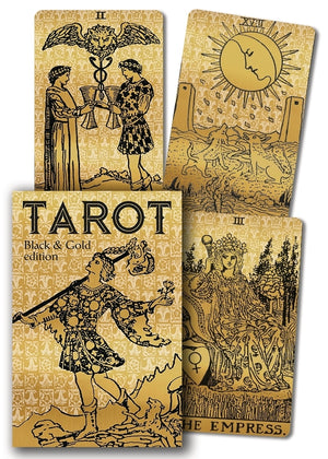 Tarot, Black and Gold Edition - Large Boxed Deck