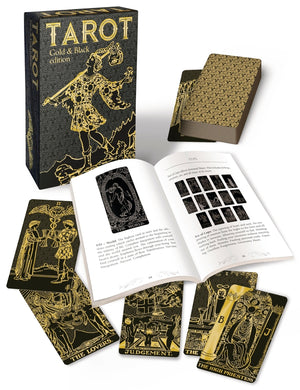 Tarot, Gold and Black Edition - Large Boxed Deck