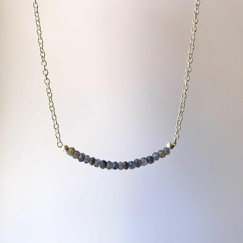 Tanzanite Necklace - Little Fern Creations