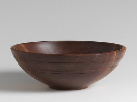Andrew Pearce Willoughby Bowl, Black Walnut
