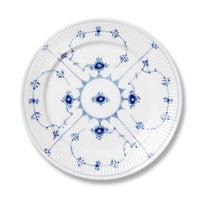 "Royal Copenhagen ""Blue Fluted Plain"" Salad Plate, 7.5"""