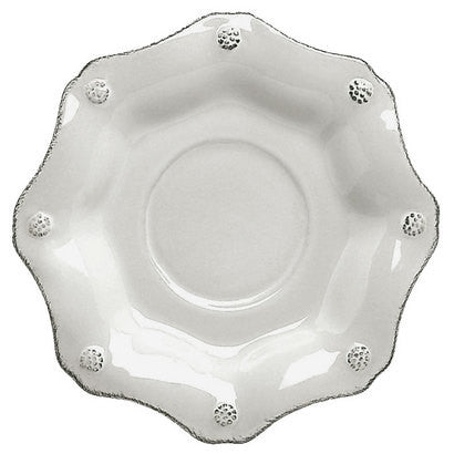Juliska Berry and Thread Scallop Saucer, White