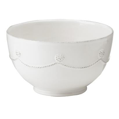 Berry and Thread Cereal Bowl, White