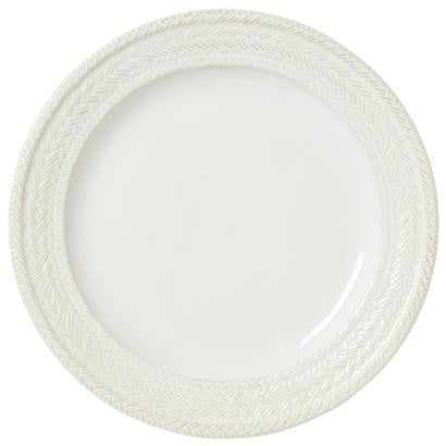 Juliska, Le Panier Dinner Plates in White