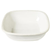 "Juliska Le Panier Whitewash 11"" Square Serving Bowl"