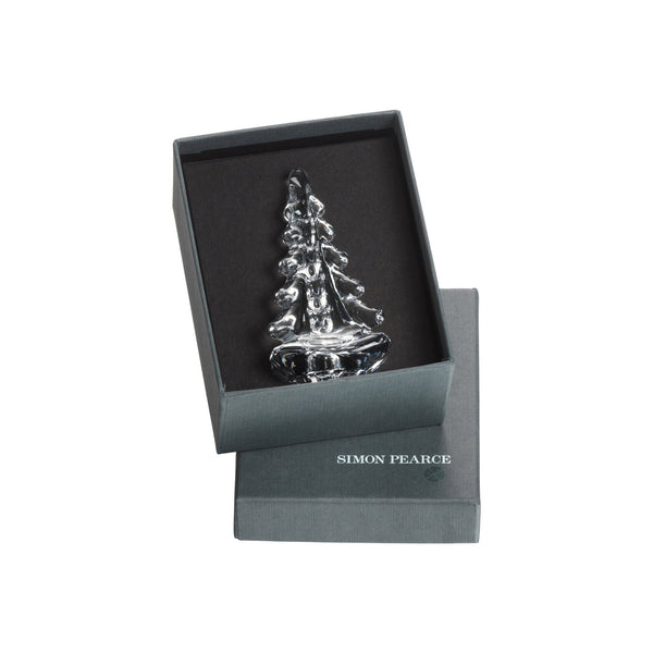 "Simon Pearce 4"" Vermont Evergreen in Gift Box"