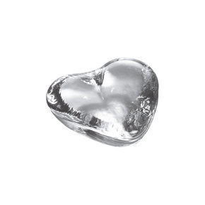 Simon Pearce Highgate Heart Paperweight