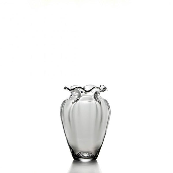 Simon Pearce Chelsea Optic Cinched Vase