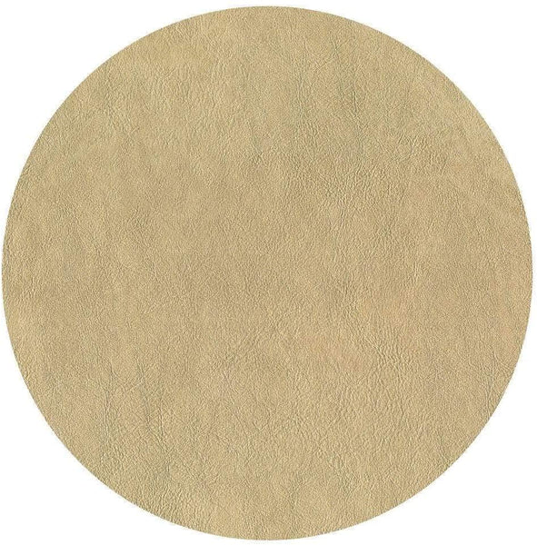 Caspari Leather Felt-Backed Placemat in Gold