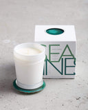 Mer Sea Boxed Candle & Agate Coaster